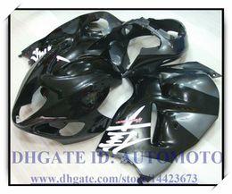 Wholesale 97 Gsxr Fairing Kits - BLACK BRAND NEW INJECTION FAIRING KIT 100% FIT FOR SUZUKI GSXR1300 1997-2007 GSXR 1300 97-07 GSX-R 1300 1998 1999 #UR733