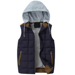 7c5c95a088 China Fall-Very Good Men Casual Vest Winter Coat Hat Detachable Men  Waistcoat Sleeveless Jacket