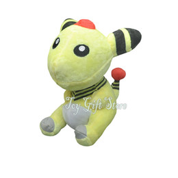 "Wholesale Ampharos Plush - Free Shipping Ampharos 7"" 18cm Plush Doll Stuffed Toy New Gifts"