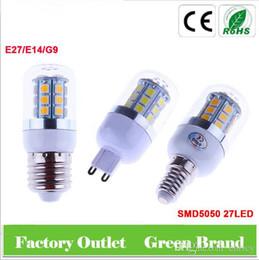 Wholesale Led E14 8w Corn - SMD5050 corn led E27 E14 G9 led corn bulb AC110-240V 24LED 48LED 69LED 5W 6W 8W LED light bulbs For home Lighting