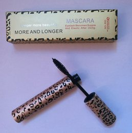 Wholesale Leopard Mascara - IN STOCK!! HOT Makeup Leopard LASH Mascara black 10ml Waterproof cosmetic mascara Free shipping