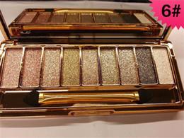 paleta de sombra de ojos más vendida Rebajas Wholesale-9 colores de sombra de ojos paleta de sombra de ojos Kit Set Maquillaje Maquillaje Pro Box