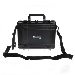Wholesale Cameras Shoulders Carry - Waterproof Case Hand Carrying Safe Equipment Universal Case Instrument Box Moistureproof Locking For Gun Tools Camera Laptop VS Pelican Case