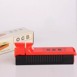 Wholesale Rolling Filter Cigarette Tubes - Single Tube Cigarette Tobacco Filter Automatic Cigarette Rolling Machine Roller Injector Cigarette Make with retail box