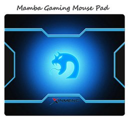Wholesale Mouse Pad Dota - new Mamba Gaming Game Mouse speed Edition 300*250*2mm locking edge mat for SC2 Dota 2 LOL CS games