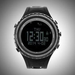 Wholesale Barometer Compass Watch - Wholesale- SUNROAD Bluetooth Smart Sport Watch Barometer Altimeter Thermometer Compass Wristwatch Pedometers Fitness Equipment