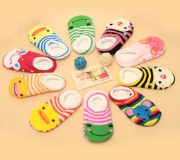Wholesale Boys Cotton Slipper Socks - 10 Pair lot + Unisex Baby Kids Toddler Girl Boy Anti-Slip Socks Shoes Slipper