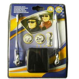 Wholesale intercom headset for helmet - Helmet to Helmet Communicator system 2 way Motorcycle Intercom headset For Harley Davidson intercomunicadores de motos MP3 GPS