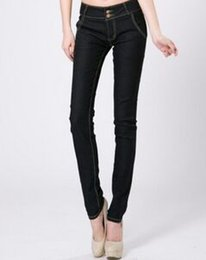 Wholesale Trousers Wing - New Womens Robin Jeans Women Jean Pants Trousers Stretchy Skinny Tight Slim Trousers with Eagle Wings Clip Women's plus size 26-32