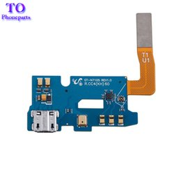 Wholesale Note Ii Docking - New Micro USB Charging Charger Dock Port Flex Cable For Samsung Galaxy Note 2 II N7100 N7105