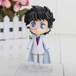 "Wholesale Kaito Kid Action Figure - Cute Nendoroid 4"" Detective Conan Kaito Kid the Phantom Thief PVC Action Figure Collection Model Toy #300 1206#06"