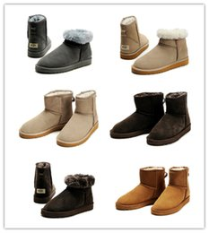 Wholesale women fashion winter boots - 2017 winter New WGG Australia Classic snow Boots A+++ Quality Cheap women man winter boots fashion discount Ankle Boots shoes size 5-12