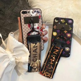 Wholesale Leather Cover Case Star - Luxury leather printing Snake Star phone case for iPhoneX 7 7plus 6 6Splus TPU soft cover for iPhone8 8plus with hand rope