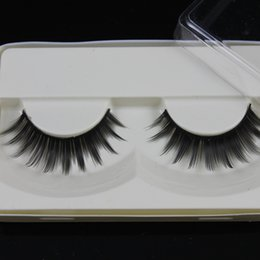 Wholesale Wholesale Single Eyelash Extensions - Wholesale-False Eyelashes good eyelashes extensions single blank packing eye lash thick eyelash (50 pairs lot) private label acceptable