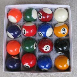 Wholesale Mini Snooker - Wholesale- suzakoo One Set 25mm or 32mm mini biliards ball pool children tool snooker balls