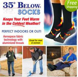 Wholesale Feet Warmers Socks - Warm Socks sox 35 Below Socks Keep Your Feet Warm and Dry Aluminized Fibers Men Gift Kids