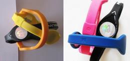 Bande de balance en silicone en Ligne-100 pcs bracelet en silicone énergie bracelet balance mains bracelet S, M, L