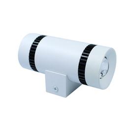 Canada Forme de télescope 2x3W LED Applique murale Plafonnier Chambre Vestibule Foyer Café Décoratif LED Lampe Économie d'énergie Nuit Lumière Offre