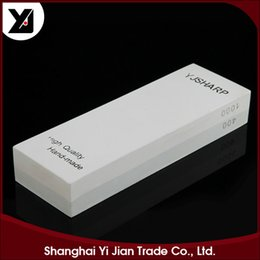 Wholesale Double Sided Material - Double Side Knife Sharpener Grindstone Coarse Grinding 400 1000 Grit size 180mm*60mm*27mm Material Silicon carbide h2