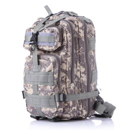 Wholesale tactical rucksacks - 12 color Camping Trekking bag Outdoor camouflage mountaineering bag 3p military Tactical Backpack laptop Molle Rucksacks camouflage backpack