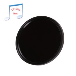 Wholesale 58mm Filter Infrared - 58mm 58 mm Infrared Infra-red IR Pass X-Ray Lens Filter 1000nm Optical Glass