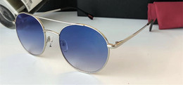 Wholesale man float - PR 51S Luxury Brand Sunglasses Round Shape Fashion Retro Vintage Summer Style Women Brand Designer Frameless Floating Clouds Come With Box