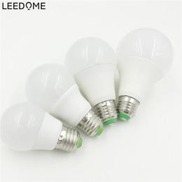 Wholesale rgb home spot - Wholesale- E27 RGB LED Bulb Lamp A50 A60 A70 A80 110V 220V RGB Lampada Led 3W 5W 10W 12W With IR Remote Controller Spot Light Home Lampara