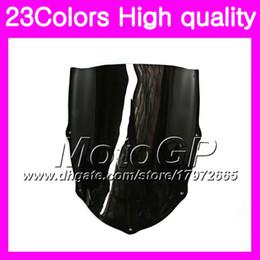 Wholesale Rs 125 - 23Colors Windscreen For Aprilia RS4 125 RS125 99 00 01 02 03 05 RS 125 1999 2000 2001 2005 Chrome Black GPear Smoke Windshield