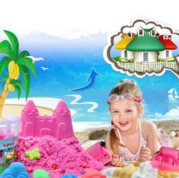 Инструменты детский песок онлайн-Горячие Продажи Новейших Детские Подарочные Инструменты детские игрушки Динамические Образовательные Удивительные Крытый Магия Play Sand Детские Игрушки Глиняные пески 4135