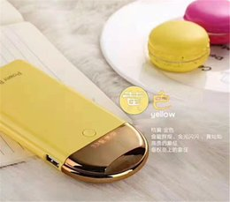 Wholesale China Mobile Phone Accessory - A-140 New Cell Phone Accessories 2017 China Factory Ultra Thin Mobile Power Bank 8000mAh 1Usb Hanging Style Design For iPhone 7 6 5