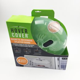 Wholesale Oven Covers - New Microwave Oven Covers Top Quality Safety Magnet Anti Splash Food Splatter Guard Hover Cover Kitchen Tool 10ss F R