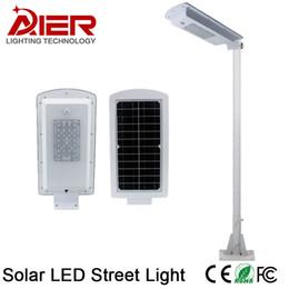 Wholesale Industrial Solar - 2017 new outdoor IP65 Solar LED Street Light with motion sensor function solar street garden lamp