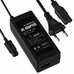 Wholesale Eu Adapter Ac Power Cord - AC power supply adapter for Nintendo gamecube NGC wall power cord EU plug
