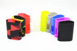 Wholesale Mega Covers - Istick Pico Mega Silicone Case Colorful Rubber Sleeve Protective Cover Skin For iSmoka Eleaf Istick Pico Mega TC 100w Box Mod DHL