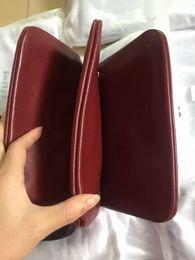 Wholesale Large Black Envelopes - Free shipping genuine leather trio three layer messenger envelope women's large handbag cross-body shoulder bag