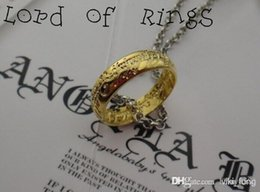 Wholesale Valentines Day Ring Sales - The Necklace Fashion Jewelry Alloy The Lord of the Rings Pendant Valentine Gift Hot Sale