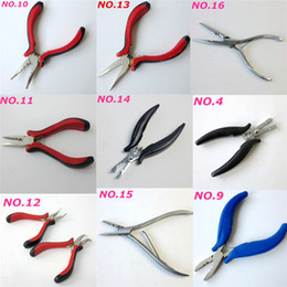 hair bonding wholesale Coupons - Professional Hair Extensions Pliers fusion tools Stainless Steel for Link Beads Pre bonded hair more styles Optional