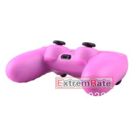 Wholesale Playstation Pink - 15 Styles 1 PCS Silicone Gel Rubber Protective Case Skin Grip Cover For Playstation 4 PS4 Controller Pink