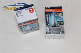 Wholesale D3s Bulb - GENUINE for OSRAM D3S Headlight Xenon Lamp XENARC 66340HBI HID BULB 4200K OEM Made In Germany