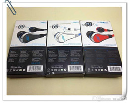 Wholesale Chinese Sms Audio Headphones - DHL High Quality Mini 50 Cent SMS Audio 50 Cent In-Ear Headphones Wired Earphone STREET by 50 Cent Factory Sale with Free Shipping