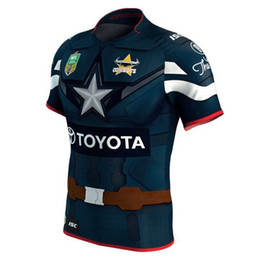 c350a605a01 China Best Quality Hero version 17 18 rugby shirt NRL Jersey North  Queensland Cowboys 2017 Marvel