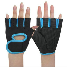 Wholesale Wholesale Bike Gloves - Coo lChange outdoor Half Finger Cycling Gloves Mens Women Summer Sports Bike Gloves Nylon Mountain Bicycle Gloves