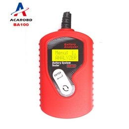 Wholesale Digital Battery Tester Auto - Quicklynks BA100 Auto Motive Battery Analyzer Battery Tester Ba100 Battery Checker Vehicle12v Digital For All Cars Data Analyzer