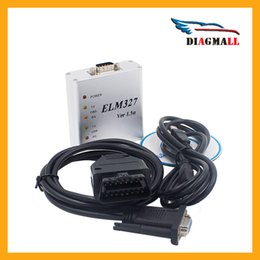 Wholesale Can Bus Skoda - Alumimum Shell ELM327 OBD2 USB V1.5 Code Reader OBDII CAN-BUS Auto Diagnostic Interface Scanner Tool