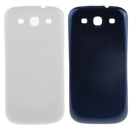 Wholesale Door Cases S3 - 100% OEM Brand New Battery Cover Rear Back Door Case For Samsung Galaxy S3 i9300 Free Shipping