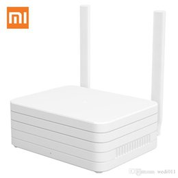 Wholesale Gigabit Dual Band Wireless Router - English Version Xiaomi Gigabit WIFI Router Dual Band NAS 1TB Hard Drive Wi Fi Roteador 1200Mbps 2.4G 5G APP