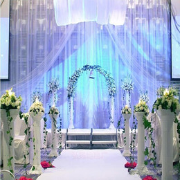 Wholesale Party Photo Backdrops - 10m Per lot 1m Wide Shine White Nonwoven Carpet Aisle Runner For Wedding Party Backdrop Centerpieces Decorations Supplies