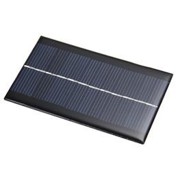 BCMaster 6V 1W Panel de Energía Solar Módulo del Sistema Solar Inicio Panel Solar de DIY Para Batería de Luz Cargadores de Teléfonos Celulares Viajes a Casa desde fabricantes