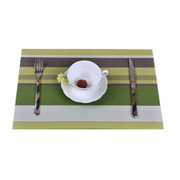 Wholesale Hot Pad Placemats - Wholesale- 4pcs Lot Christmas Placemats, PVC Placemat Bar Mat, Kitchen Accessories, 30 * 45cm Plate Mat, Table Mat Set, Kitchen Hot Pads #1