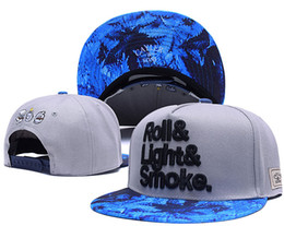 Wholesale Multi Leaf Springs - 2016 New Cayler &Sons Roll&Light&Smoke Snapback Hats Leaf Fashion Men's Desinger Classic Adjustable Baseball Caps